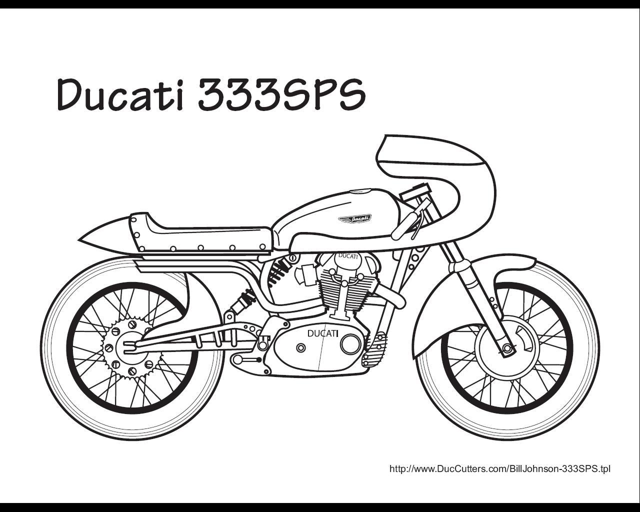 Buku Mewarnai Ducati Nunoe